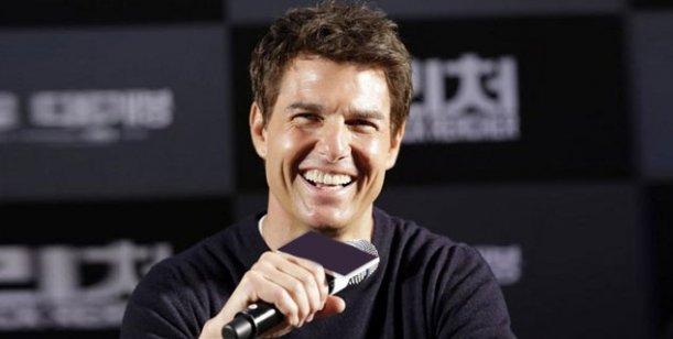 Tom Cruise llegó a Argentina y vino con cocinera propia
