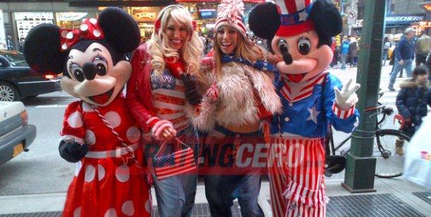 El griega tour de las hermanas Xipolitakis en Estados Unidos: las fotos