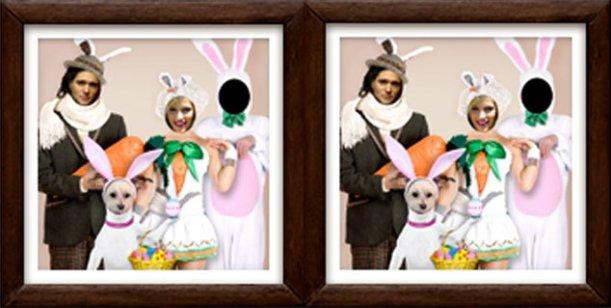 Luisana Lopilato y Michael Bublé se disfrazaron para festejar las Pascuas