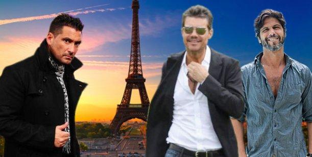 Tinelli ya está en París para festejar su cumpleaños con amigos y fútbol
