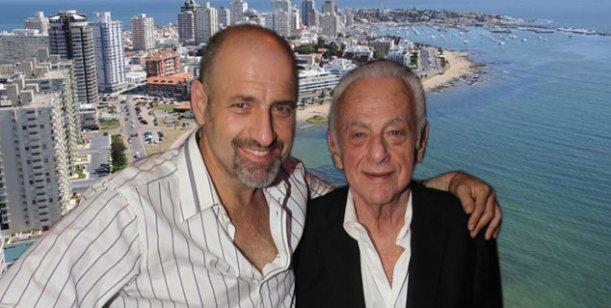 Gerardo Sofovich y su hijo Gustavo juntos y de vacaciones