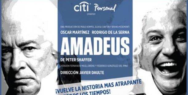 Reabre sus puertas el teatro Metropolitan con el estreno de Amadeus