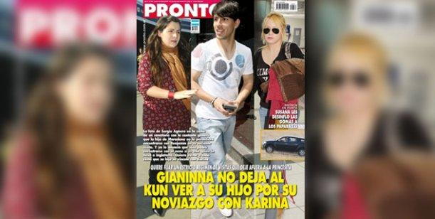 Gianinna Maradona quiere a Karina La Princesita lejos de su hijo Benjamin