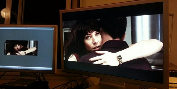 Romina Gaetani, protagonista de un videoclip de La Bersuit, la banda de su novio
