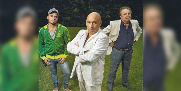 Santiago, Mariano y Federico Bal trabajarán juntos y sin Carmen Barbieri