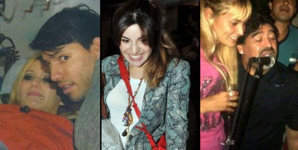 Gianinna habló de la relación de Agüero y Karina y de la novia de su papá