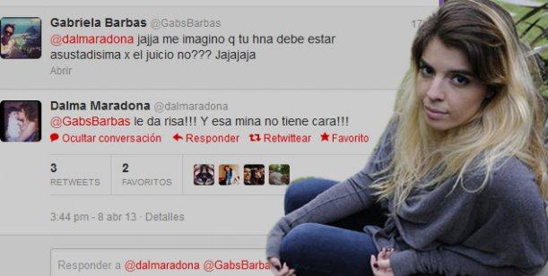 Dalma defiende a Gianinna y critica a Karina: Esa mina no tiene cara