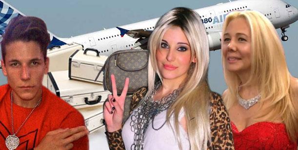 Los Caniggia en pleno se van de la Argentina esta noche de regreso a Europa