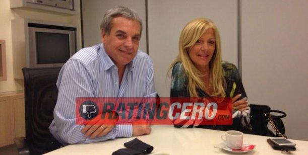 Monti y Roccasalvo firmaron con canal 9 y empiezan un programa el lunes