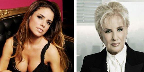 Marina Calabró vs Mirtha Legrand siempre niega la data y despues la confirma