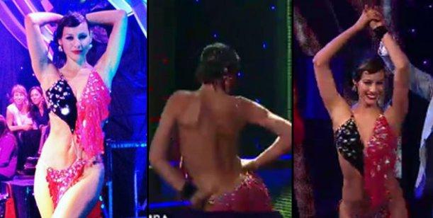Pampita se emocionó al bailar en el ciclo Baila! de Chile