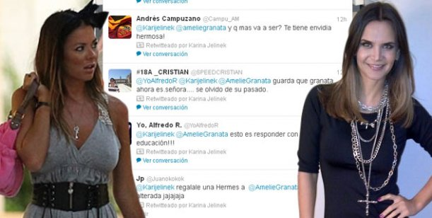 Guerra de mujeres: el fuerte cruce entre Karina Jelinek y Amalia Granata en Twitter