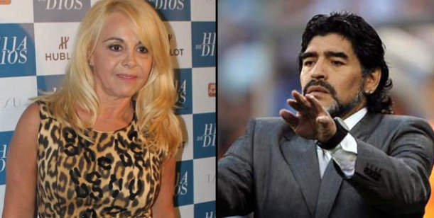 Según una auditoría, a Maradona le faltan 80 millones de pesos: la primera citada, Claudia Villafañe