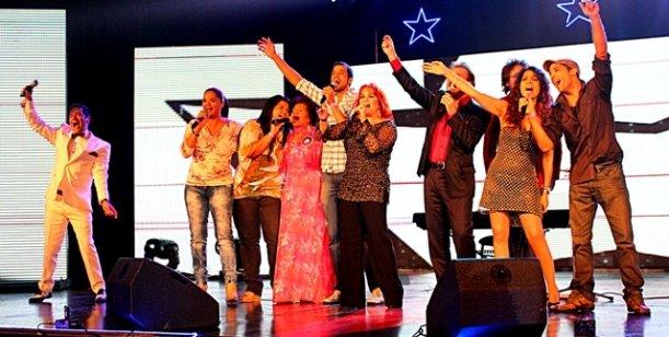 Noche de lujo de Soñando por cantar en Rosario