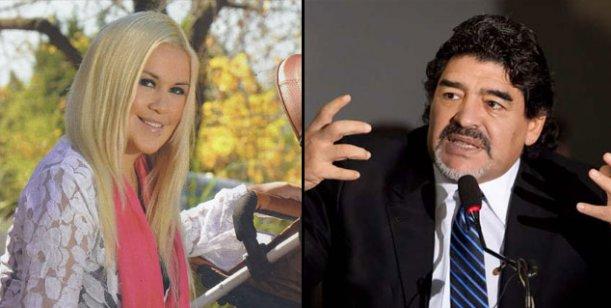 Verónica Ojeda vs. Diego Maradona: del amor al odio, y la guerra menos pensada