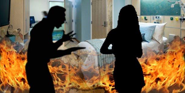 Drama: una joven fue víctima de violencia en manos de un famoso; tiene quemaduras
