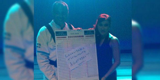 Jorge Rial sigue con su gira teatral y el lunes recibirá a Florencia Peña en Intrusos