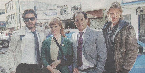 La primera imagen del elenco de Farsantes