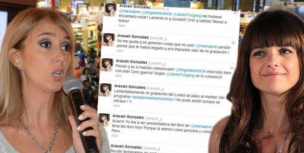 Araceli González dejó plantada a Marisa Brel, pero después se arreglaron