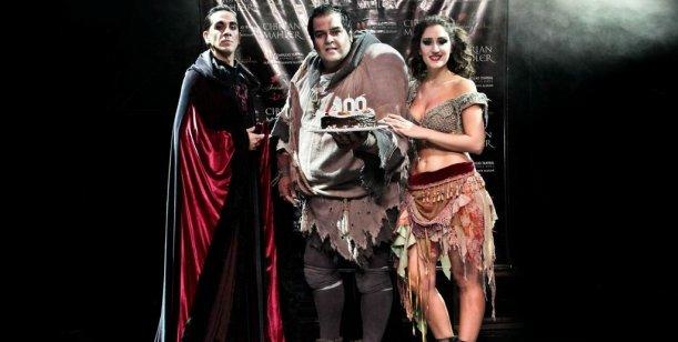 Pepe Cibrian festejó las 100 funciones de teatro