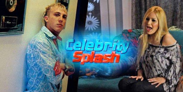 El Polaco, lejos de Karina, entrena con todo para debutar en Celebrity Splash