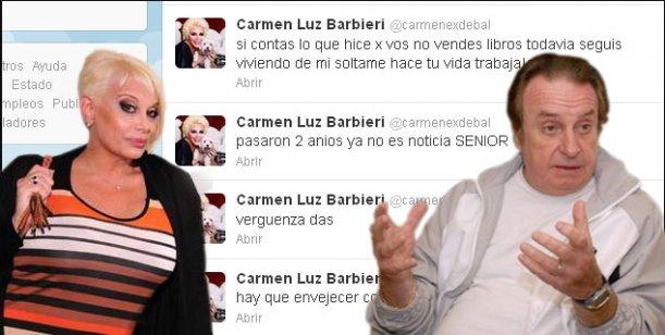 Carmen, feroz contra Bal: Hay que envejecer con dignidad, viejo