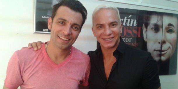 Flavio Mendoza y Martín Bossi, los dos reyes de la taquilla