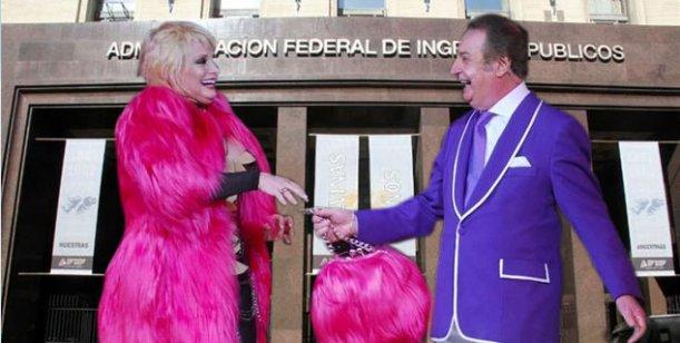 Sigue el escándalo: Carmen Barbieri y Santiago Bal, investigados por la AFIP