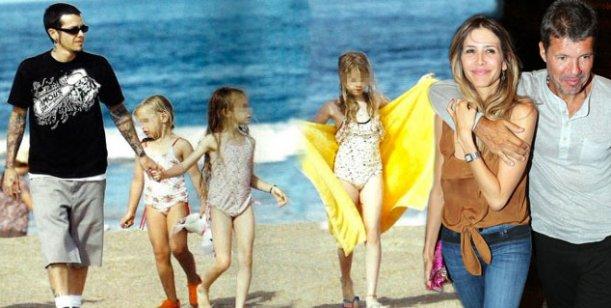 Ortega firmará el permiso para que Valdes viaje con sus hijos y Marcelo Tinelli