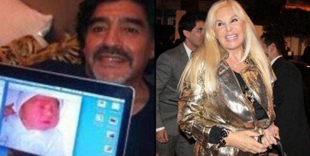 Susana negocia para tener a Maradona y a Diego Fernando en su primer programa
