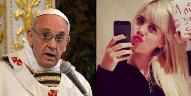 Inesperado encuentro: Wanda Nara tiene audiencia con el papa Francisco