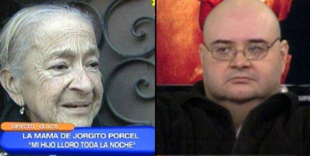 Jorge Porcel Jr. ahora es el gordo 50 lucas y su madre llora en televisión