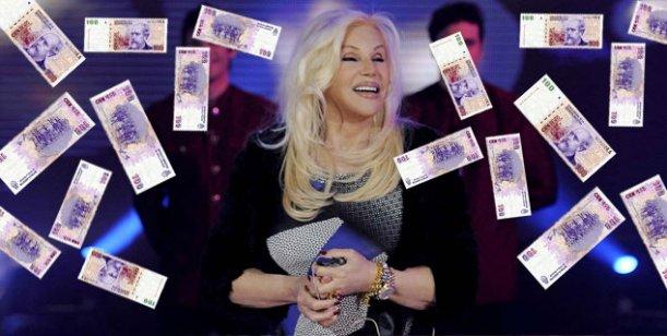 Susana devaluada: Dicen que bajó su cachet, pero que cobrará un millón por mes