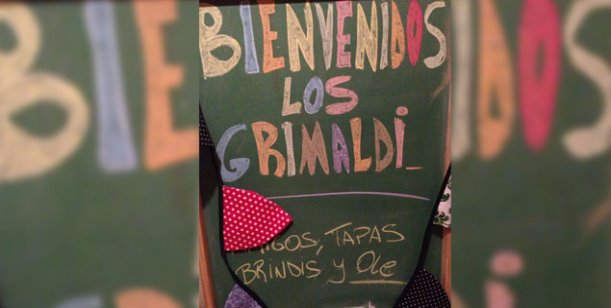La fiesta de Los Grimaldi: todos menos Gastón Soffritti, el ex de Barbie Vélez