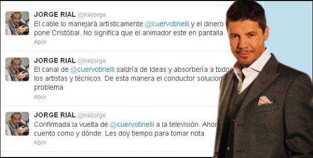 Marcelo Tinelli vuelve a la televisión