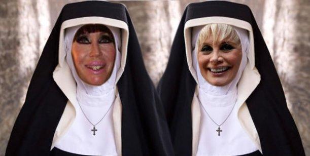 Carmen Barbieri y Moria Casán pasan de la revista al convento en el 2014