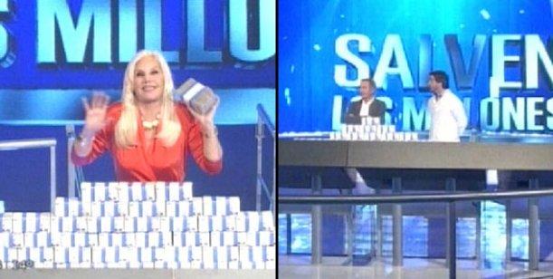 Con picos de 16.8, Susana Giménez debutó con Salven los millones