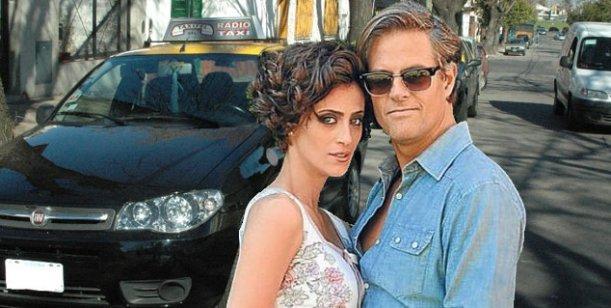 ¿Mónica Antonópulos y Mike Amigorena se esconden en un taxi?