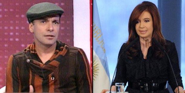 Martín Bossi habló de la presidente: Cristina es la mejor actriz de Argentina