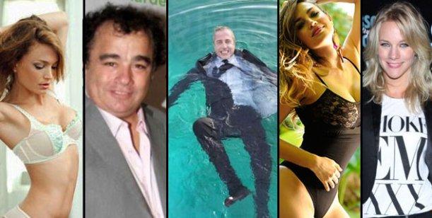 Celebrity Splash: Albertario, La Tota, Francese y una ex Bandana a la pileta