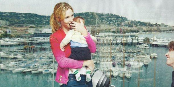 Carla Peterson junto a Lousteau y su hijo Gaspar: Logré formar una familia
