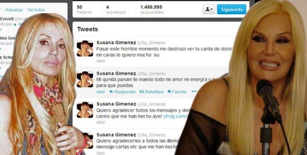 El emotivo tweet de Susana para Panam: Me destrozó ver tu carita de dolor