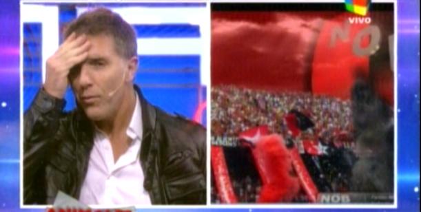 Alejandro Fantino sufrió las cargadas por la eliminación de Boca de la Libertadores