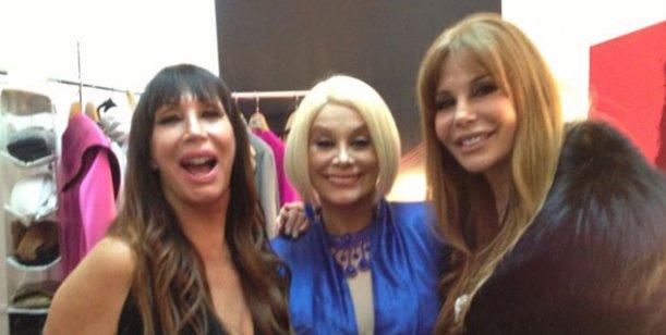Tres potencias se saludan: Alfano fue a ver a Moria y Carmen