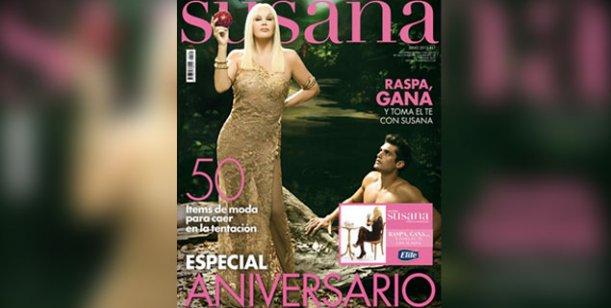 Susana Giménez festeja los cinco años de su prestigiosa y vendida revista