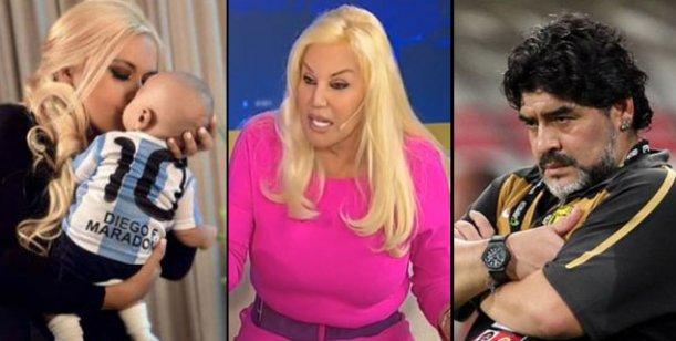 Maradona no quiere que Ojeda vaya con su hijo esta noche a lo de Susana