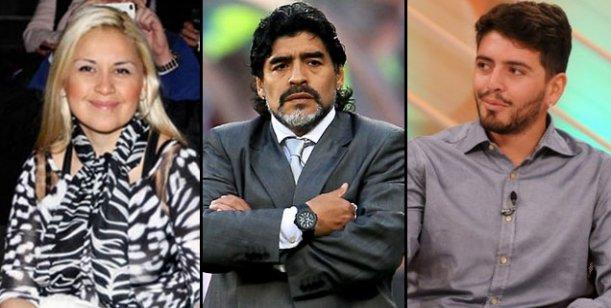 Diego Maradona Jr.: Verónica está luchando como luchó mi vieja