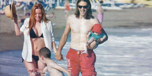 Evangelina Anderson y Martín Demichelis: El amor sigue intacto, la ilusión no se va