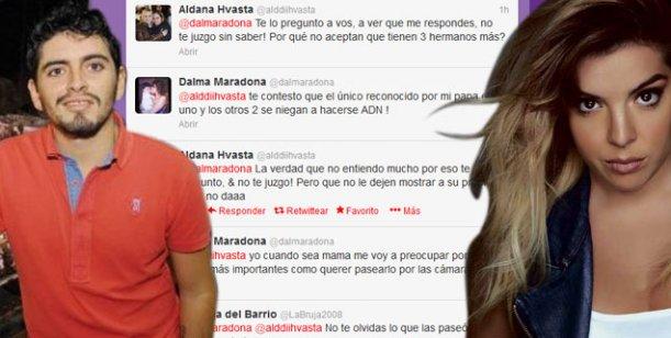 Dalma Maradona vs. Diego Maradona Jr.: Si quieren el ADN que me lo pidan