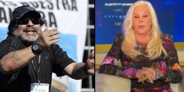 Diego Maradona daría marcha atrás con el juicio a Susana Giménez